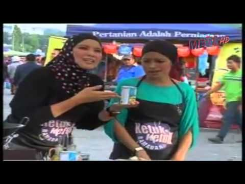 LAWAK GILER ... Video Artis Tak Reti Masak !!