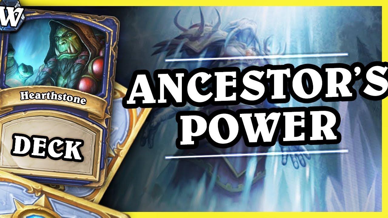 ANCESTOR'S POWER SHAMAN – Hearthstone Deck Wild (KotFT)