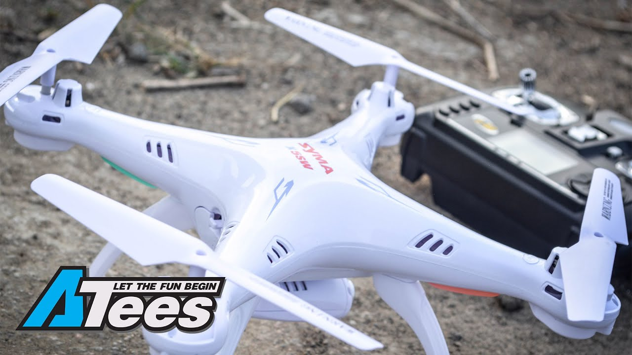 [Product Unboxing] Syma X5SC And X5SW Beginner Quadcopter/Drone RTF