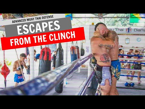 3 Muay Thai Clinch Escapes and Defenses