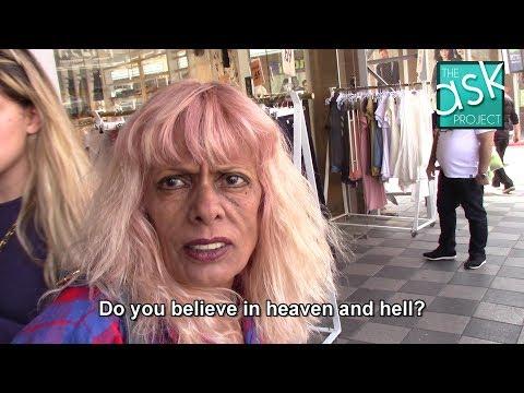 Israelis: Do you believe in heaven & hell, angels & the devil?