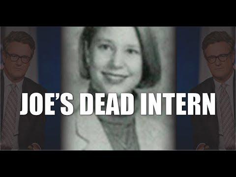 Did Psycho Joe Scarborough Bludgeon his Intern to Death?
