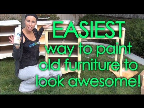 Diy Paint Refinish Old Bedroom Set Fast Easy Affordable