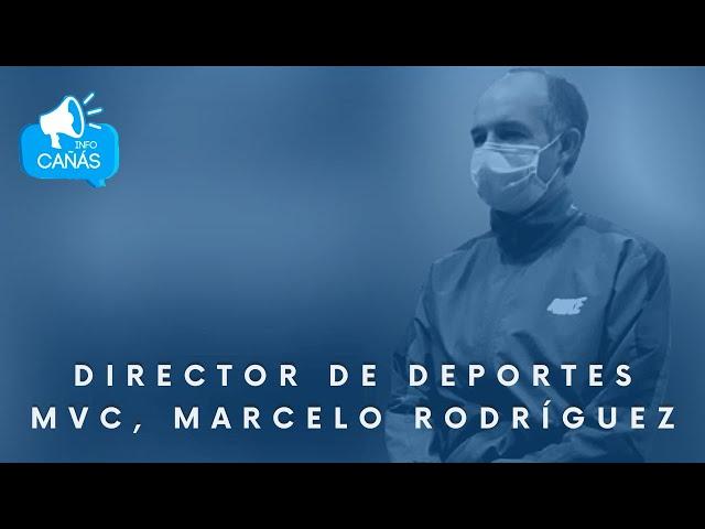El móvil de Gustavo -Director de Deportes MVC Marcelo Rodriguez