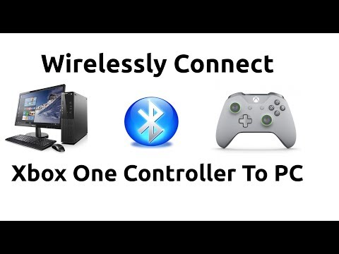 How To Wirelessly Connect Xbox One Controller To PC Via Bluetooth