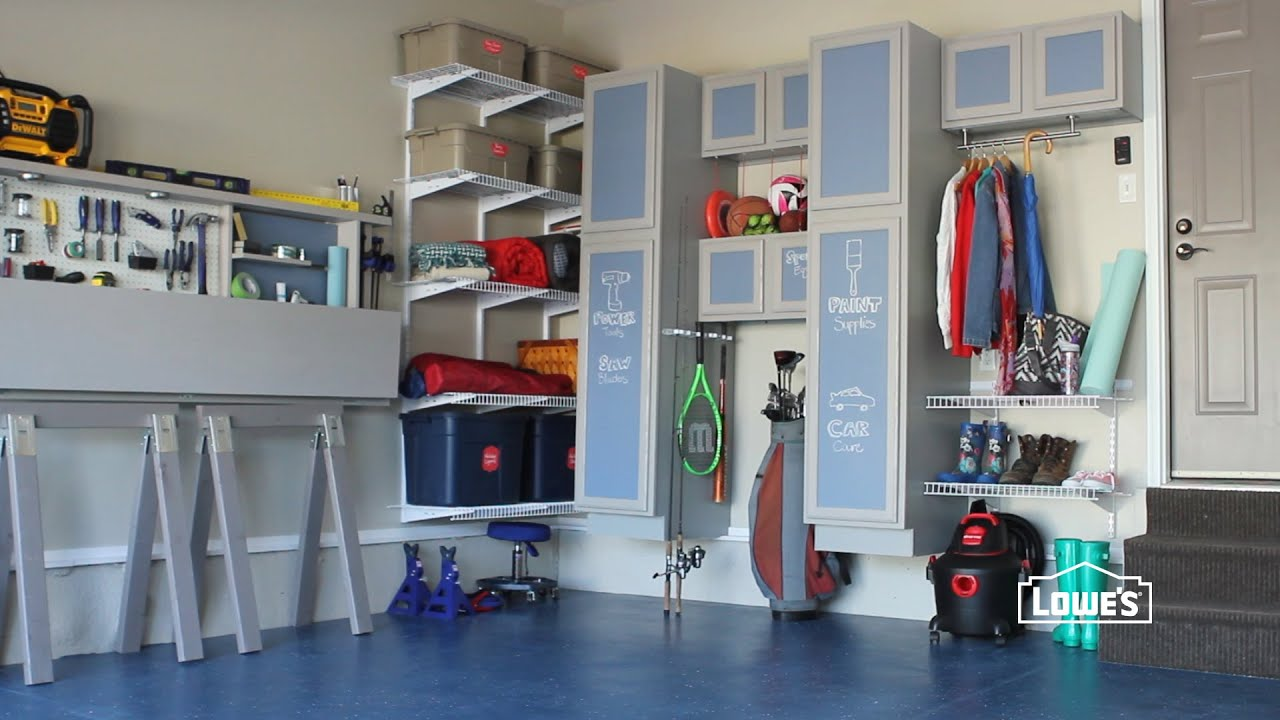 Lowe's Garage Storage Ideas