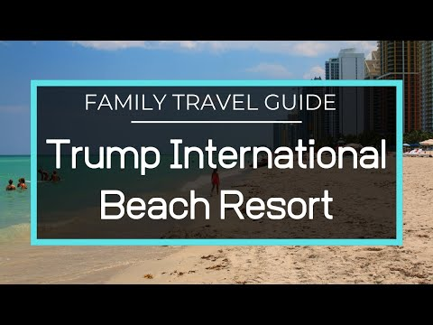 Trump International Beach Resort - Full Resort Tour, Pools, Fitness Center, Spa, Restaurants, Beach