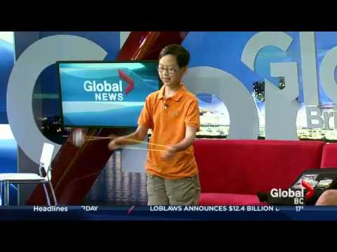 "Harrison Lee on Global TV: Morning News ""Yo-yo Champ"""