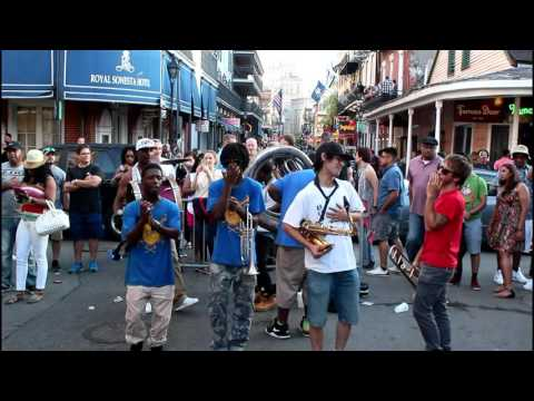 Slow Rollas Brass Band [Live On Bourbon St.] Saturday Knockin Pt.2 (2016)