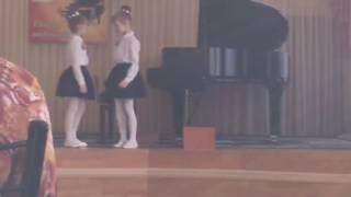Собачий вальс Л.Жульева фортепианный ансамбль