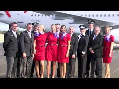 Richard Branson at the launch of Virgin Australia Regional Airlines