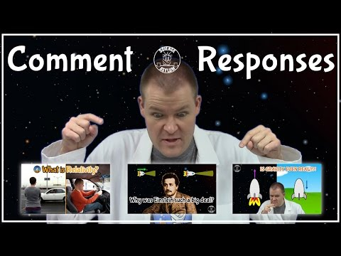 Comment Responses: Relativity Series