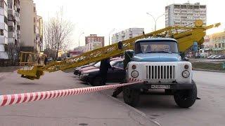 Автовышка АГЛ 17 на шасси автомобиля ГАЗ 53 г Тольятти