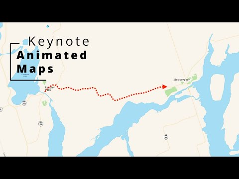 Animated Travel Maps in Keynote. How I do it.