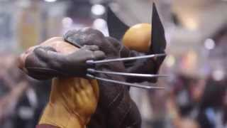 Sideshow Collectibles Marvel SDCC 2015 Display! 1/6 Scale Punisher & Wolverine & MORE!(Buy These At http://affiliates.sideshowtoy.com/Tracker.aspx?aid=3170&sku=100178&cid=-1 Enter To Win The Life Size T-800 Endoskeleton At ..., 2015-07-16T23:00:47.000Z)