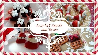 Easy DIY Holiday Snacks and Treats Thumbnail