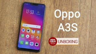 Oppo A3S unboxing - Camera, display, specs and features