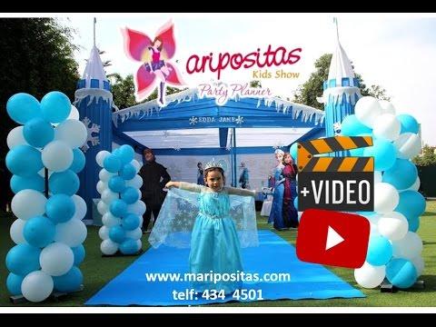 Decoracion de Frozen - Fiesta Infantil Lima