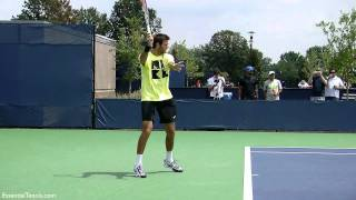 Juan Martin del Potro Forehand in Slow Motion HD