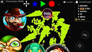 NEW SKINS // MACROx999 // Epic Solo vs ALL - AGARIO MOBILE
