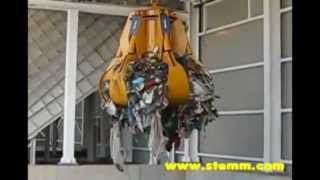 STEMM Electrohidraulic Orange Peel Grabs for Waste and Rubbish