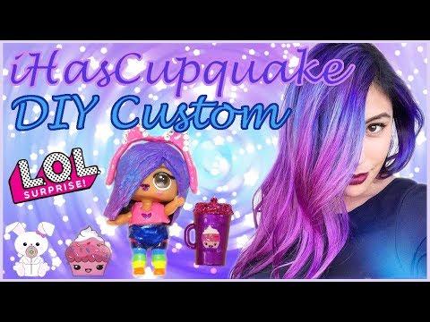 iHasCupquake 🎮 Custom LOL Surprise Doll |SugarBunnyHops