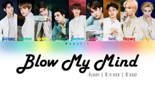 Nct 127 - Blow My Mind | Color coded lyrics