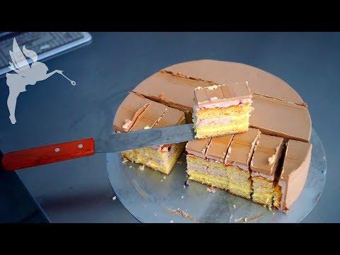Schneiden & portionieren von Hochzeitstorten - Etagentorten in Stücke schneiden - Kuchenfee Lisa
