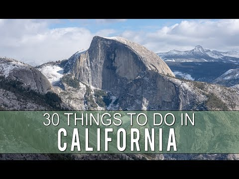 30 Things to do in California in 4 Minutes
