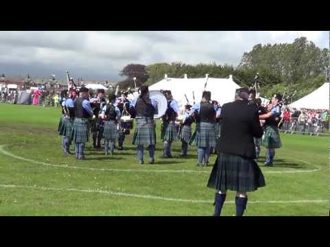 Islay Pipe Band 2012