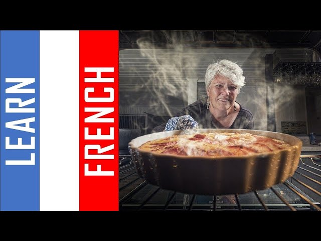 Learn French while you cook I  500 Verbs and Phrases