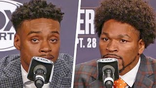HEATED! Errol Spence Jr vs. Shawn Porter FULL FINAL PRESS CONFERENCE | Fox PBC Boxing