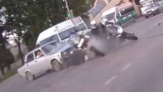 Extreme Motorcycle Crashes &  Horrifying Motorcycle Accidents