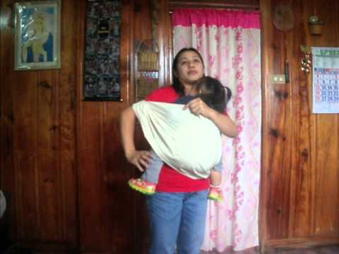 how to use malong as baby carrier