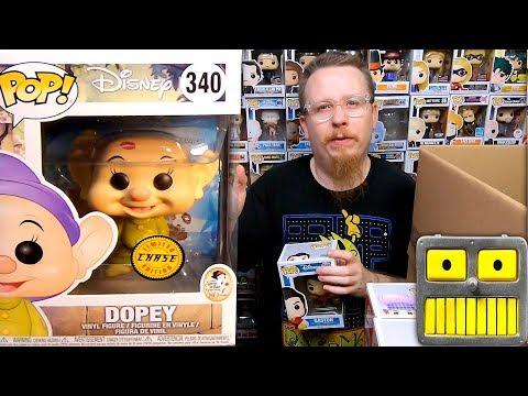 2 Mega Epic Disney Funko Pop Mystery Boxes  of Pops