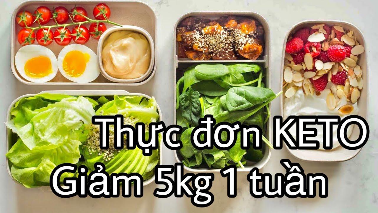 Mình đã giảm cân với chế độ ăn Keto như thế nào? | Thực đơn ăn Keto 7 ngày