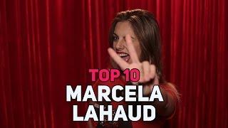 TOP 10 MUSICAS - MARCELA LAHAUD