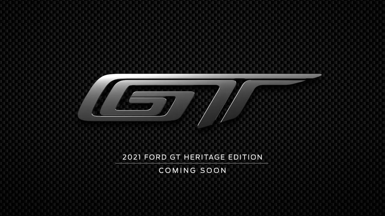 2021 Heritage Edition Teaser | Ford GT | Ford Performance