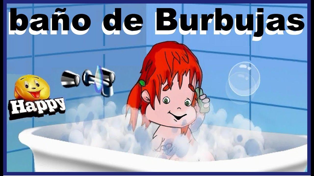 Ba o de burbujas canciones infantiles youtube - Canciones para la ducha ...