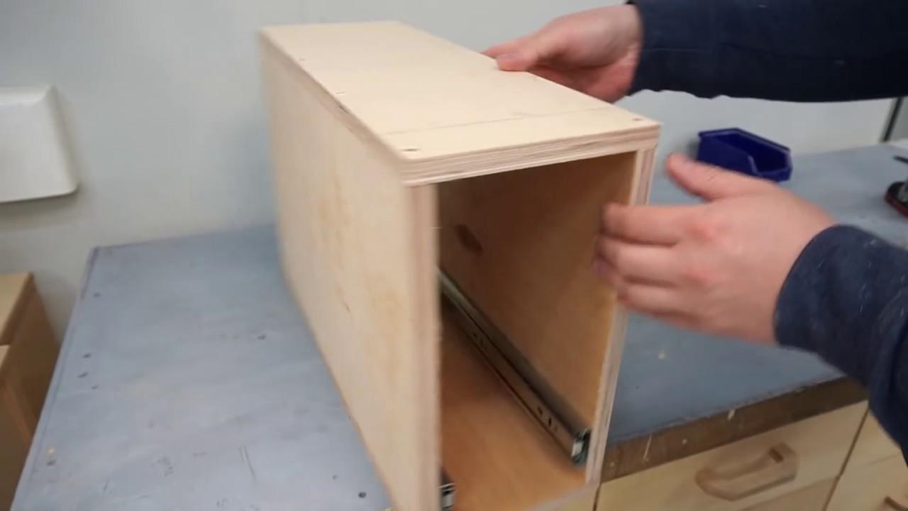 Уникальная идея для Мастерской - супер полезный ящик! Посмотри для чего он....
