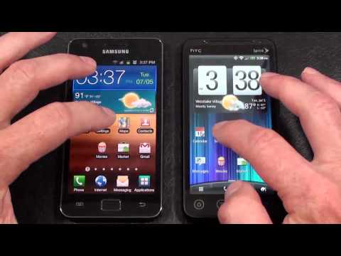 HTC EVO 3D vs. Samsung Galaxy S 2