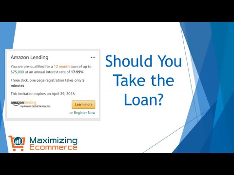 Amazon Lending - Should You Take a Loan from Amazon?
