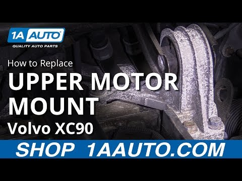 How to Replace Upper Motor Mount 03-12 Volvo XC90