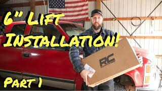 Chevy Truck Rough Country Lift Install | Part 1 - Vice Grip Garage EP48