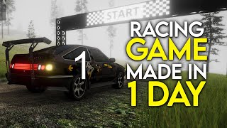 How I Made a Racing Game In 1 Day!  EASY screenshot 1