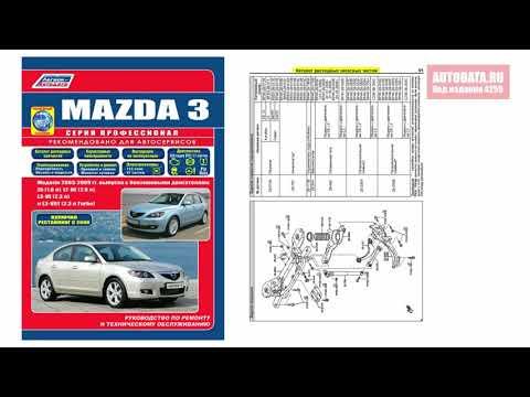 Руководство по ремонту Mazda 3 2003-2009, рестайлинг с 2006 бензин