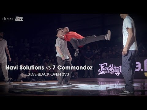 Navi Solutions vs 7 Commandoz ► .stance x Silverback Open 2017 ◄