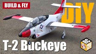 T 2 Buckeye Depron Foam RC Plane DIY
