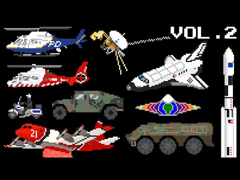 Vehicles Collection Volume 2 - Emergency, Space & Military - The Kids' Picture Show