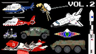 Vehicles Collection Volume 2 - Emergency, Space & Military - The Kids